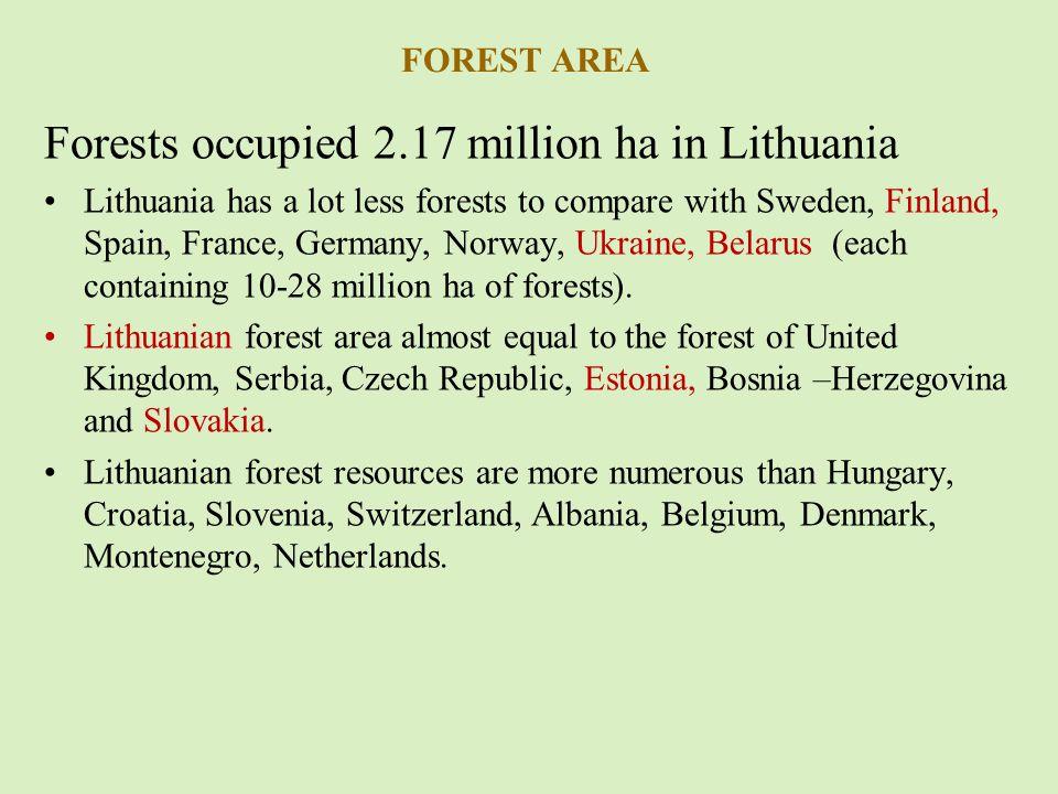 FORESTS MANAGEMENT