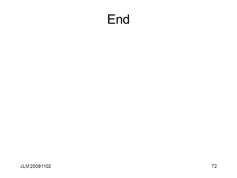 72 End JLM 20081102