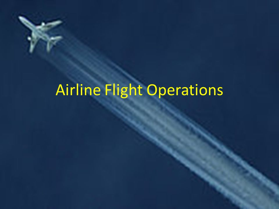 Airline Flight Operations