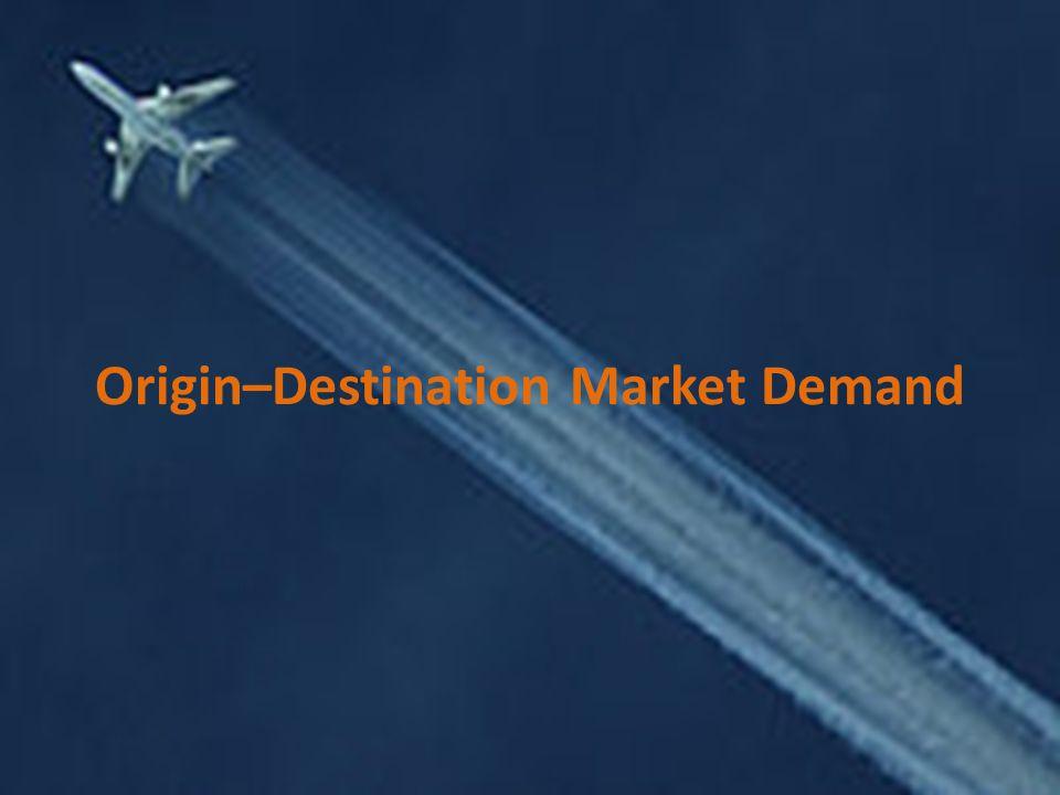 Origin–Destination Market Demand
