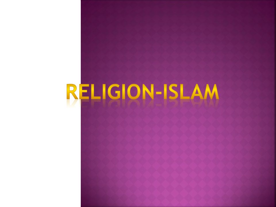 Islam is a monotheistic and Abrahamic religion articulated by the Qur an, a text considered by its adherents to be the verbatim word of God and by the teachings and normative example (called the Sunnah and composed of Hadith) of Muhammad, considered by them to be the last prophet of God.