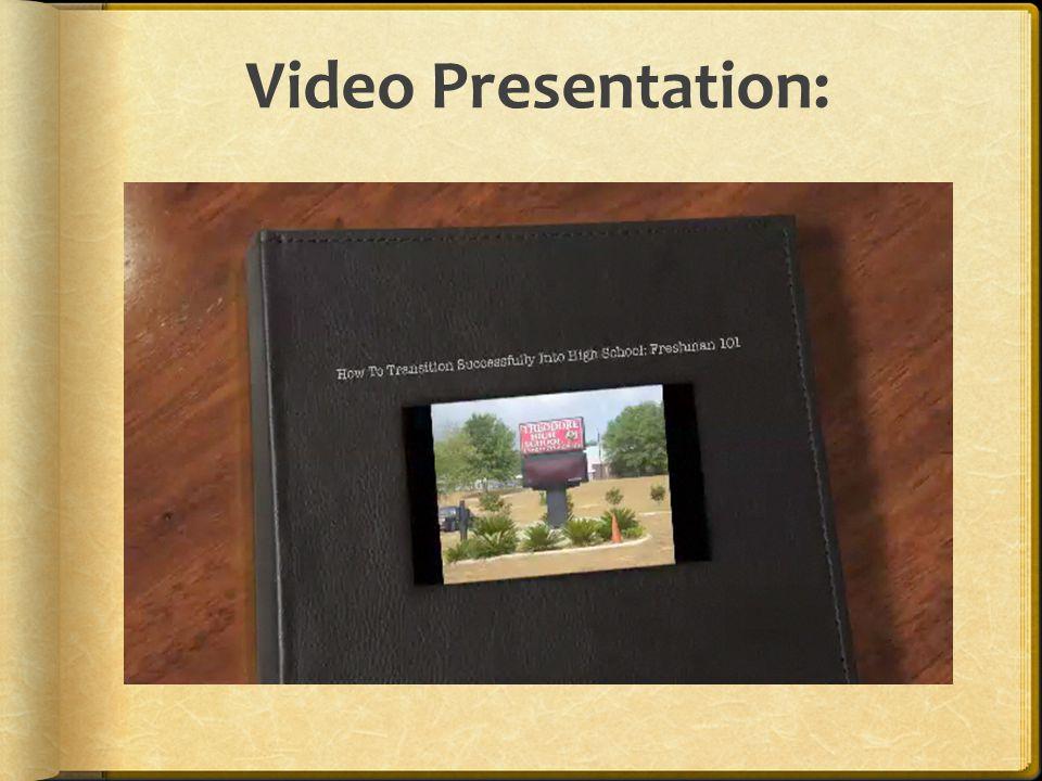 Video Presentation: