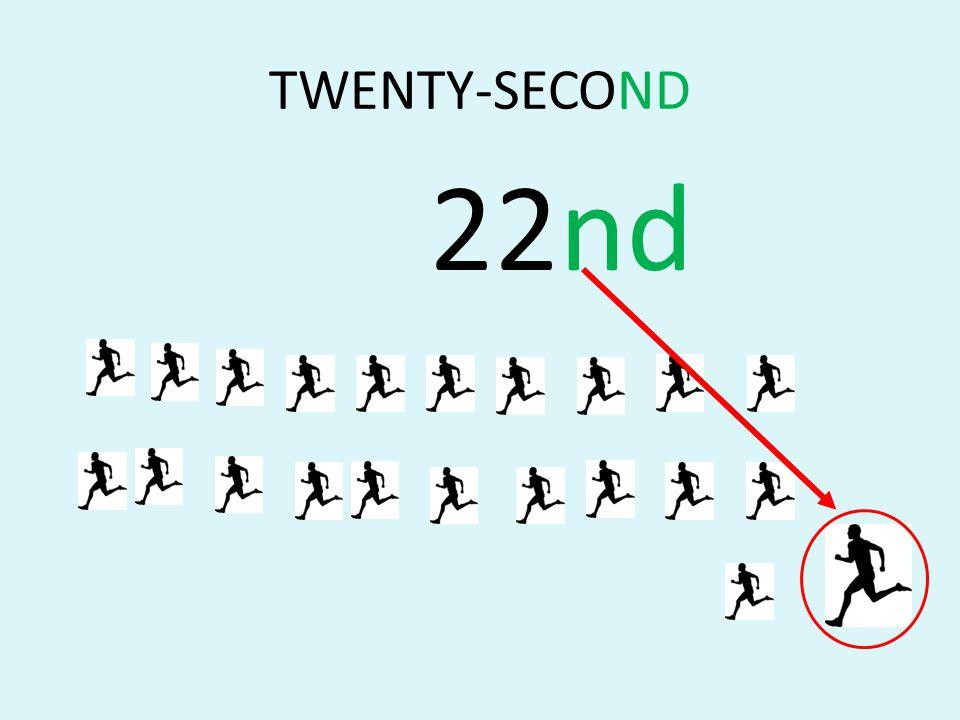TWENTY-SECOND 22nd