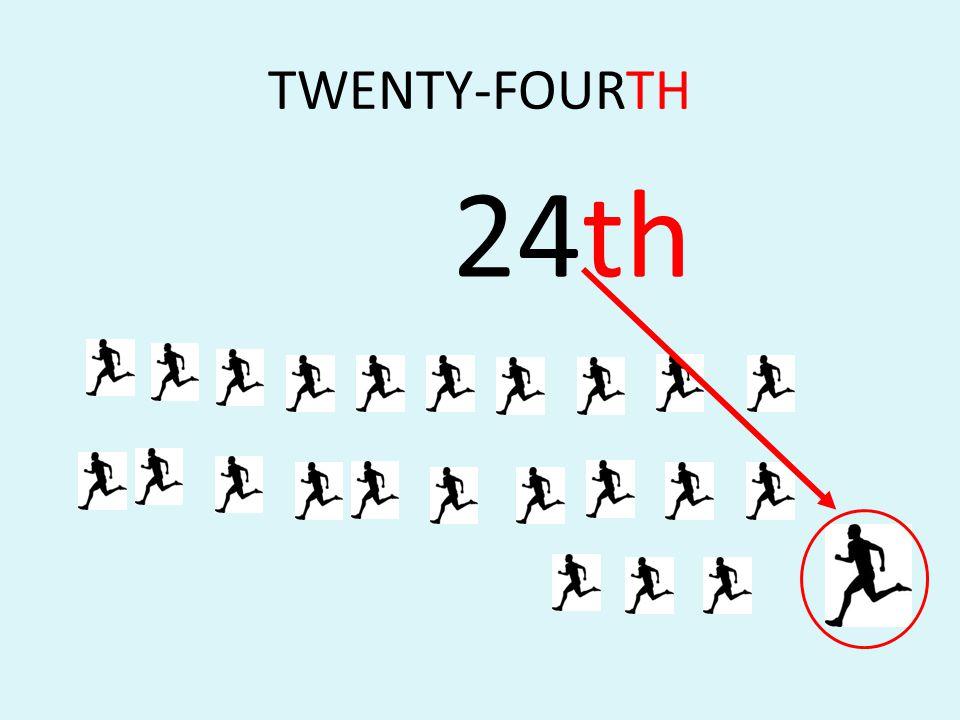 TWENTY-FOURTH 24th
