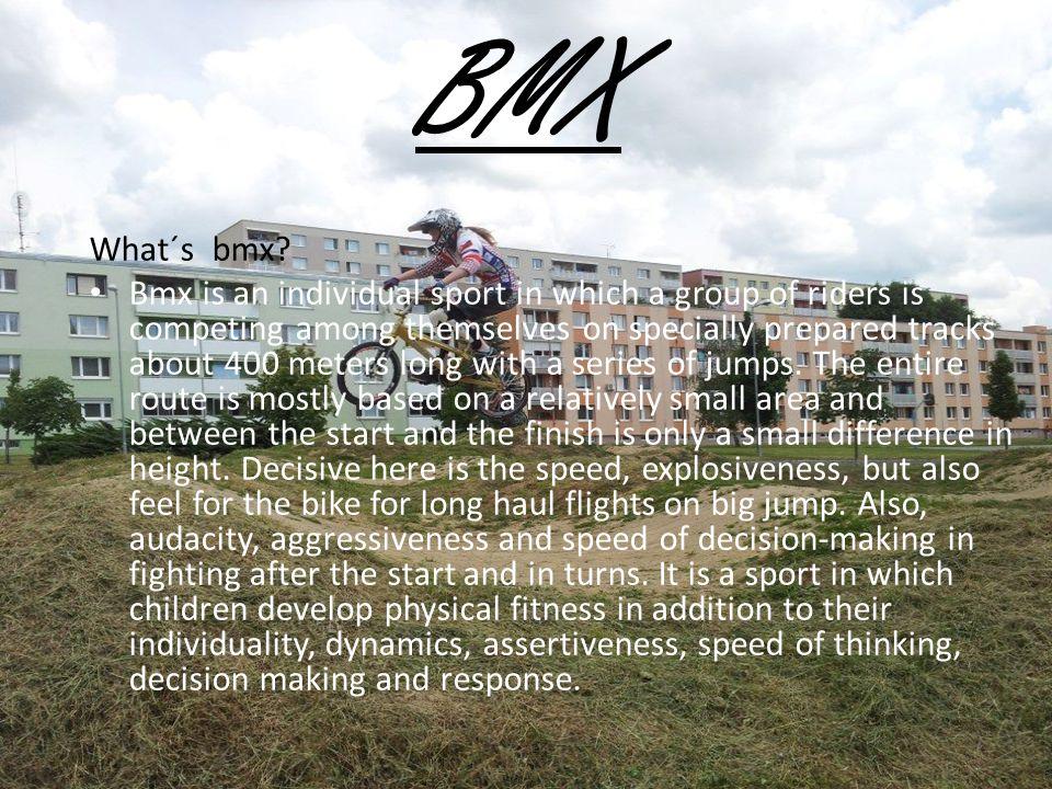 BMX What´s bmx.