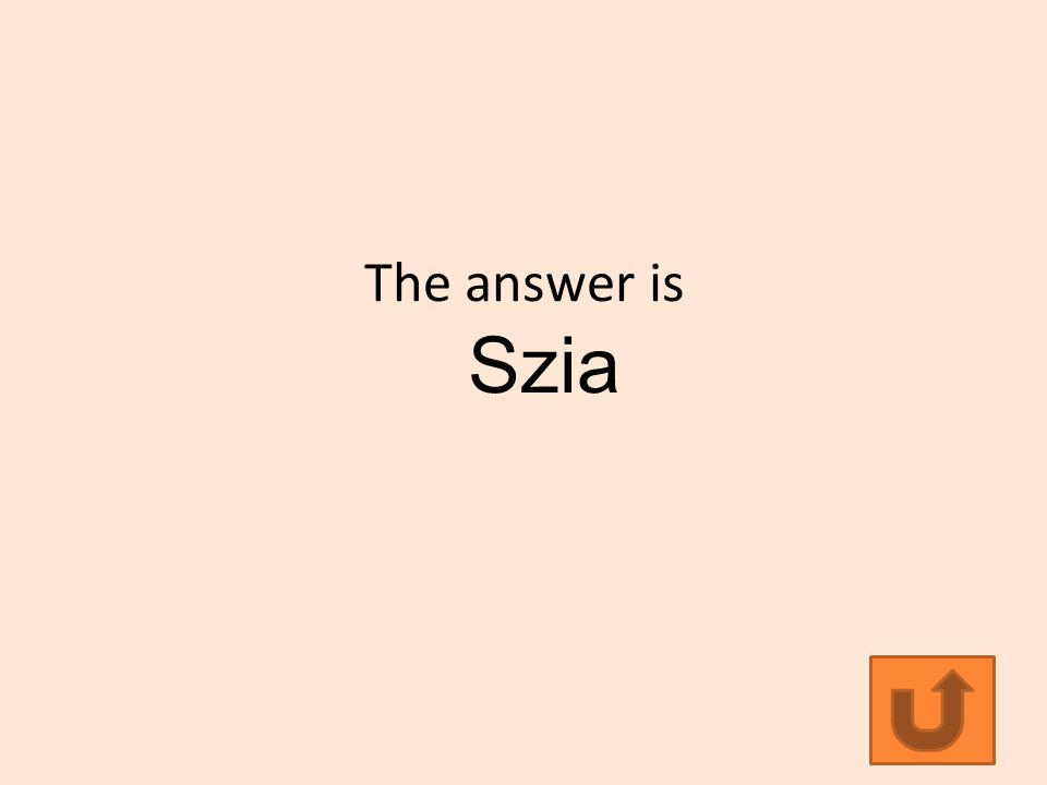 The answer is Szia