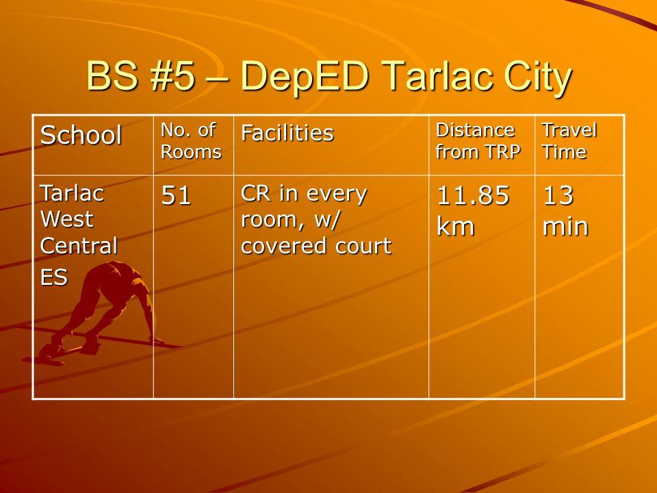 BS #5 – DepED Tarlac City School No.