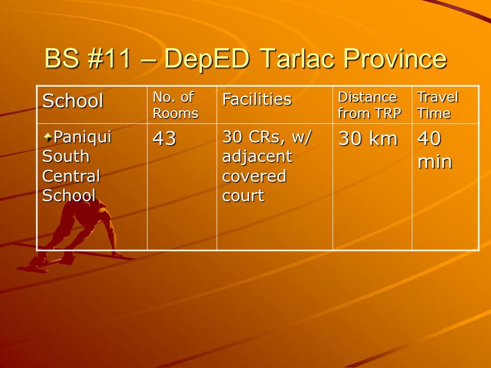 BS #11 – DepED Tarlac Province School No.