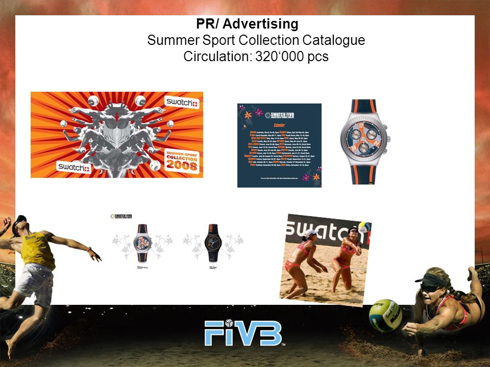 PR/ Advertising Summer Sport Collection Catalogue Circulation: 320'000 pcs