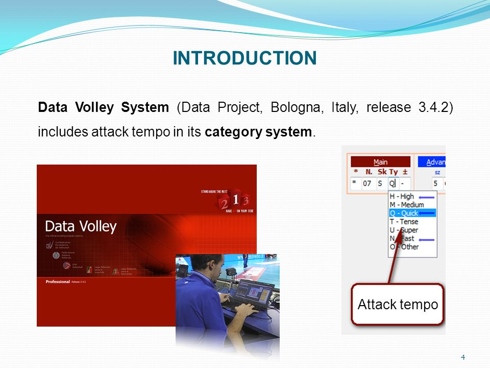 5 INTRODUCTION The different user manuals of this software are unclear with the criteria to distinguish quick, fast, and high attacks.