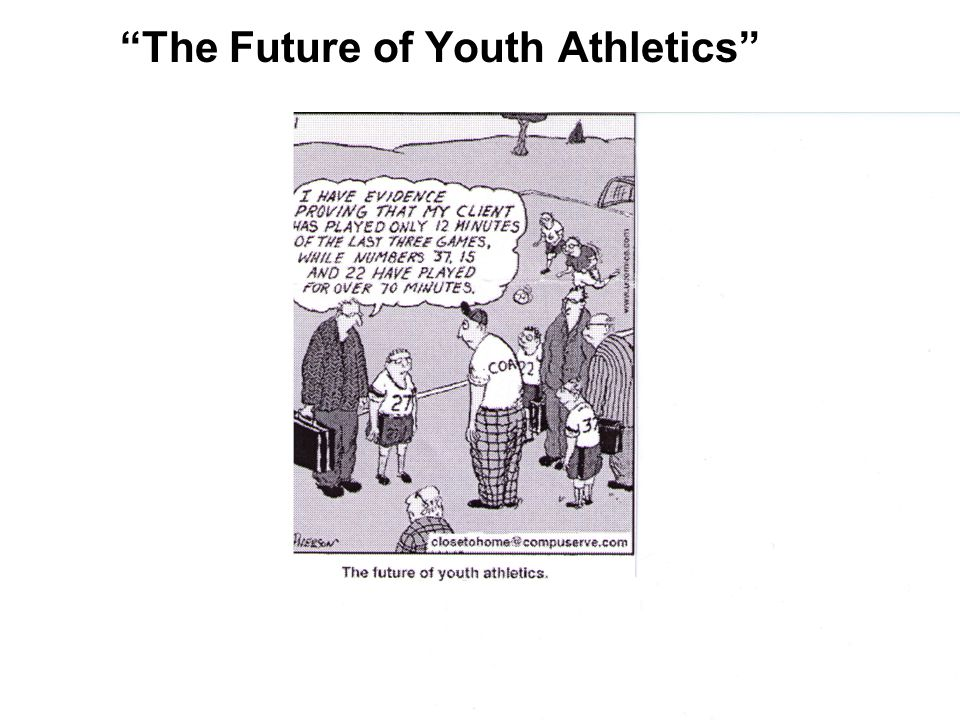"""The Future of Youth Athletics"""