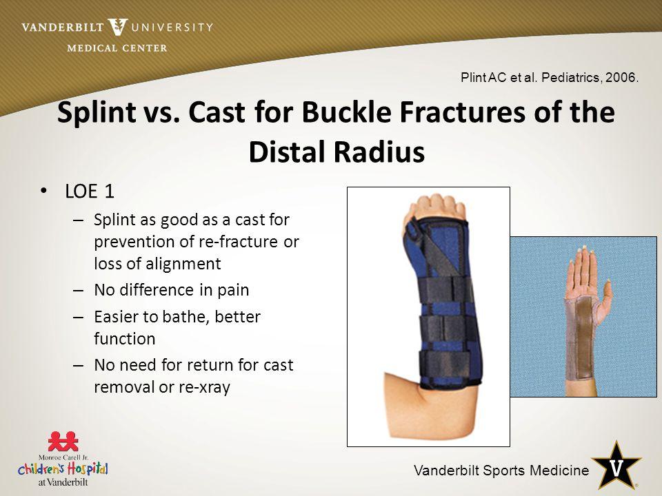 Splint vs.