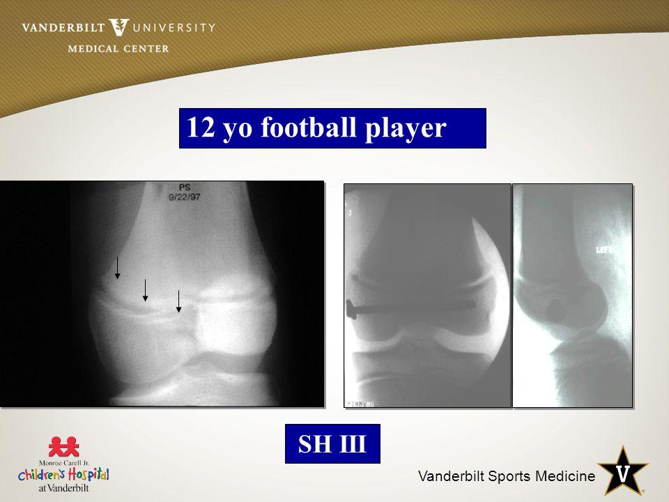 Vanderbilt Sports Medicine 12 yo football player SH III