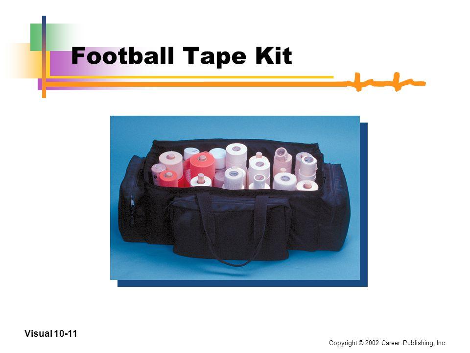 Copyright © 2002 Career Publishing, Inc. Visual 10-10 Football Field Kit