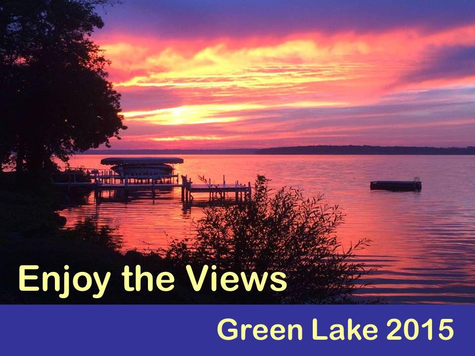 Green Lake 2015 Enjoy the Views