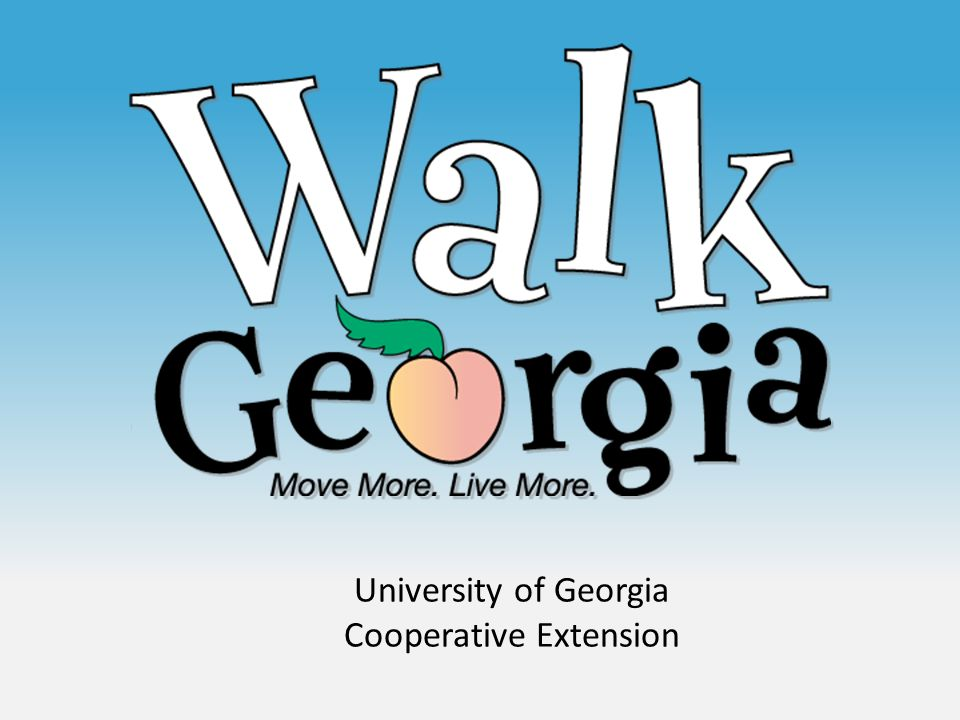 University of Georgia Cooperative Extension