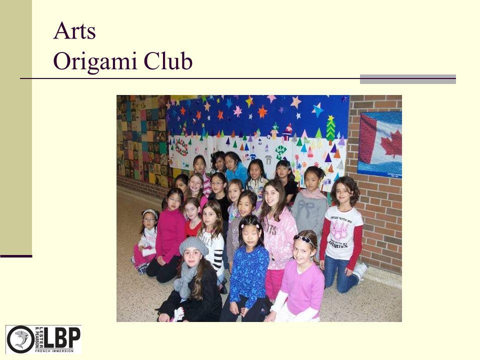 Arts Origami Club