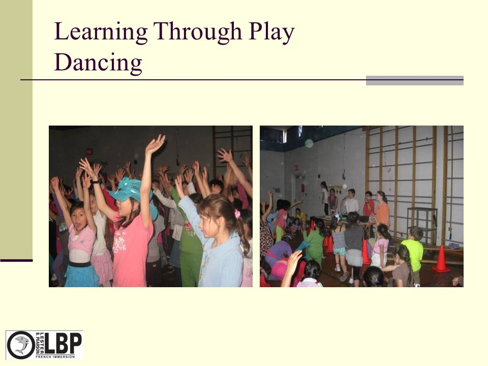Learning Through Play Dancing