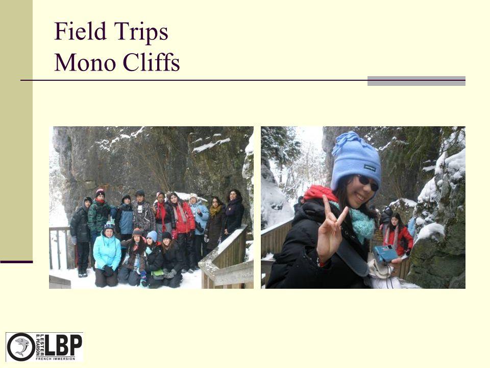 Field Trips Mono Cliffs