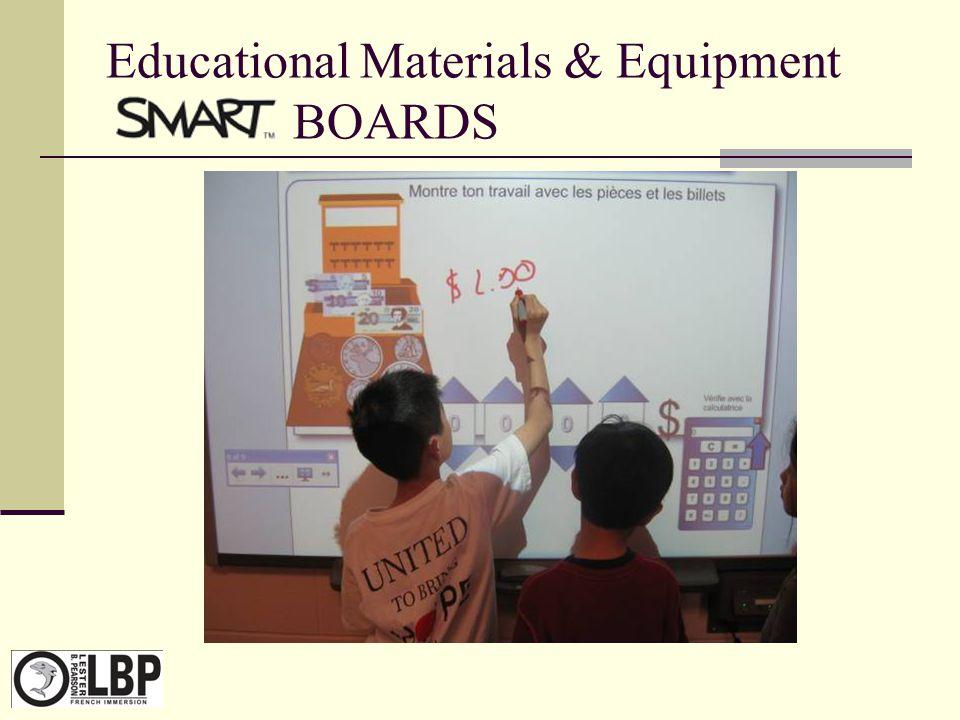 Educational Materials & Equipment SMART BOARDS