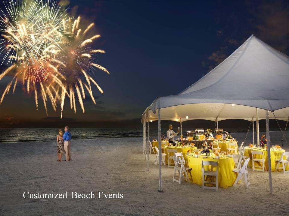 Customized Beach Events