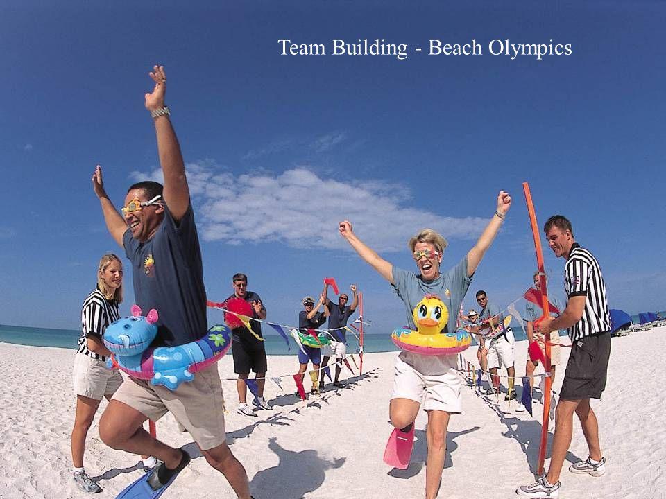 Team Building - Beach Olympics