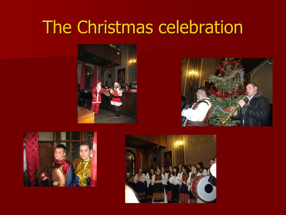 The Christmas celebration