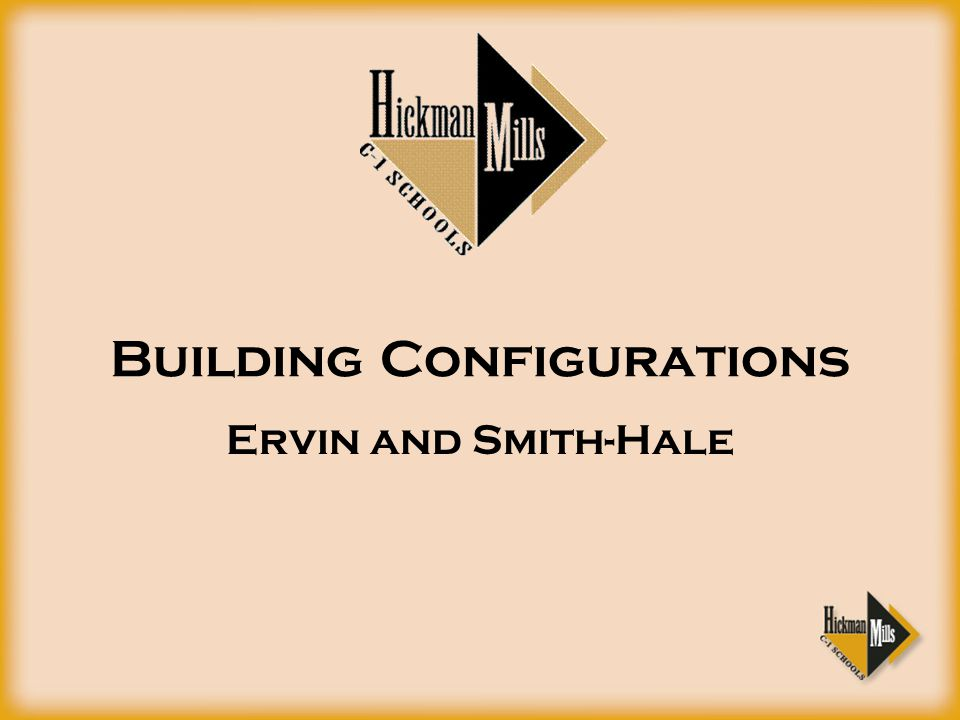 Building Configurations Ervin and Smith-Hale