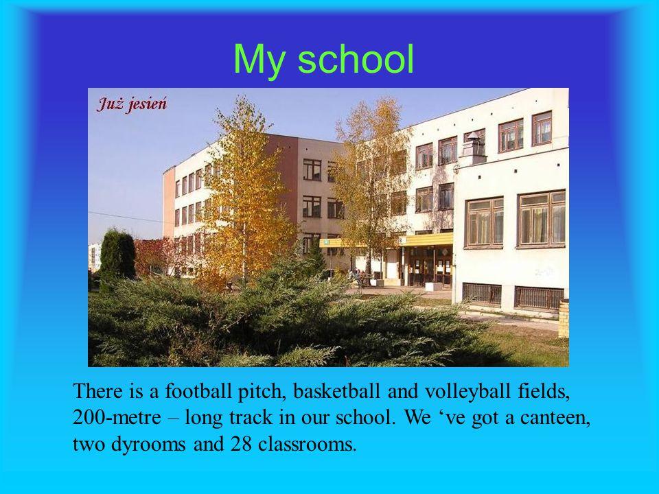 My school Elementary School No 47 named after Jan Klemens Branicki in Bialystok Monika Motybel