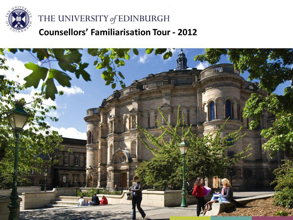 Counsellors' Familiarisation Tour - 2012