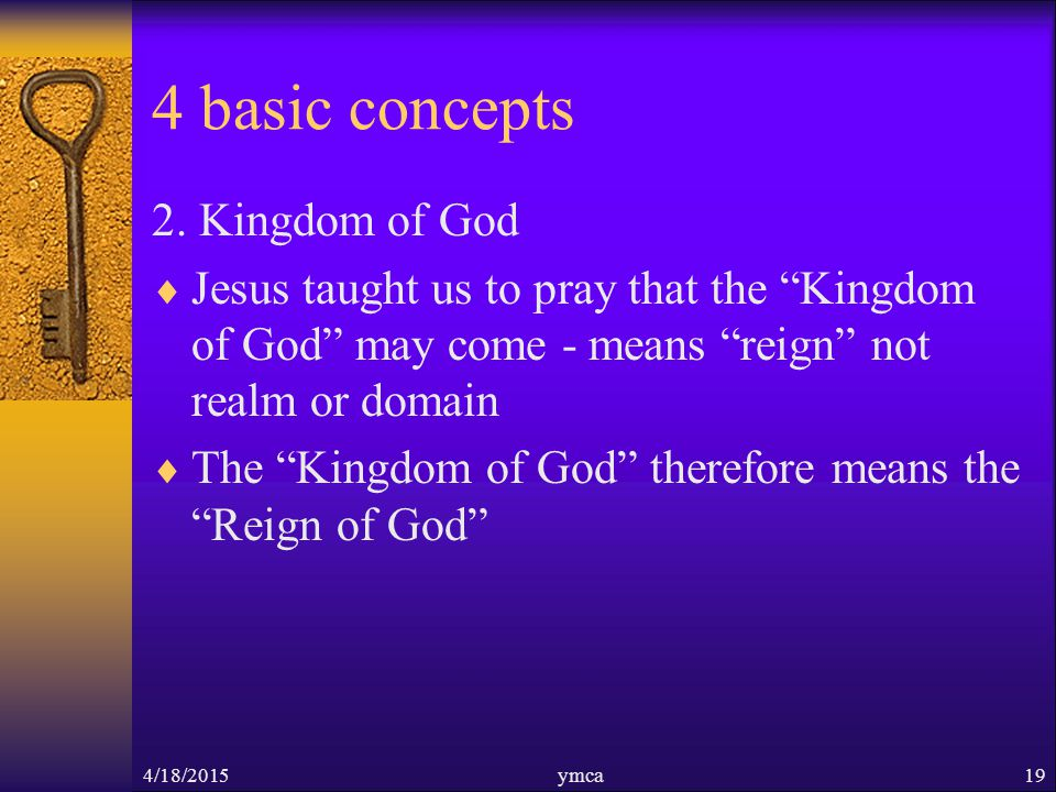 4 basic concepts 2.