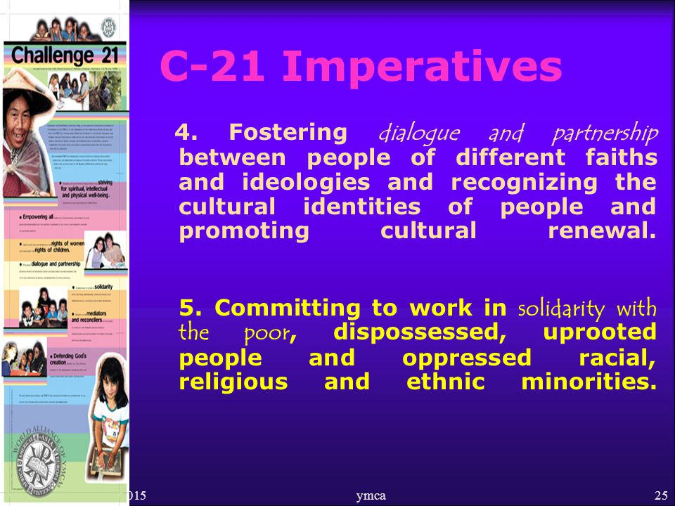 4/18/2015ymca25 C-21 Imperatives 4.