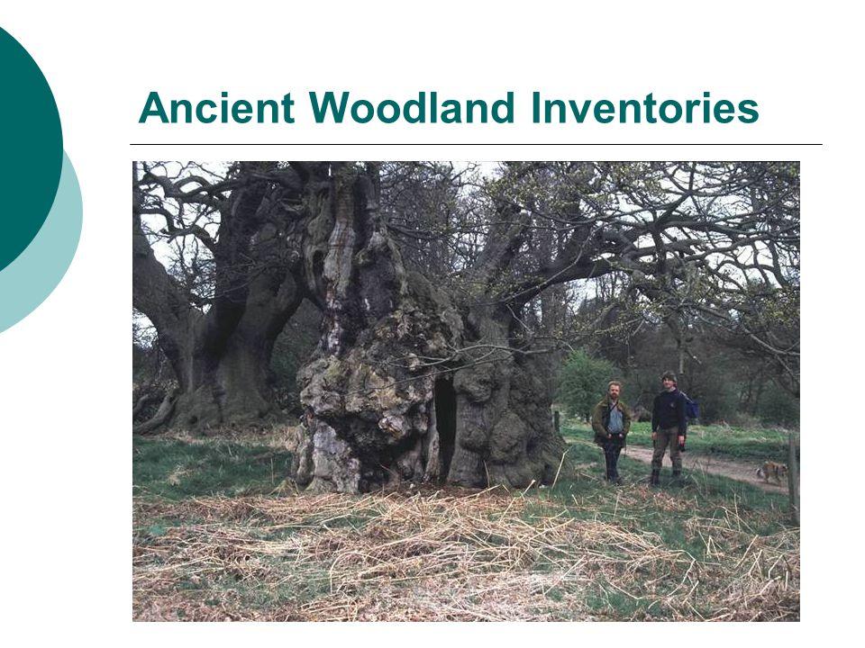 Ancient Woodland Inventories