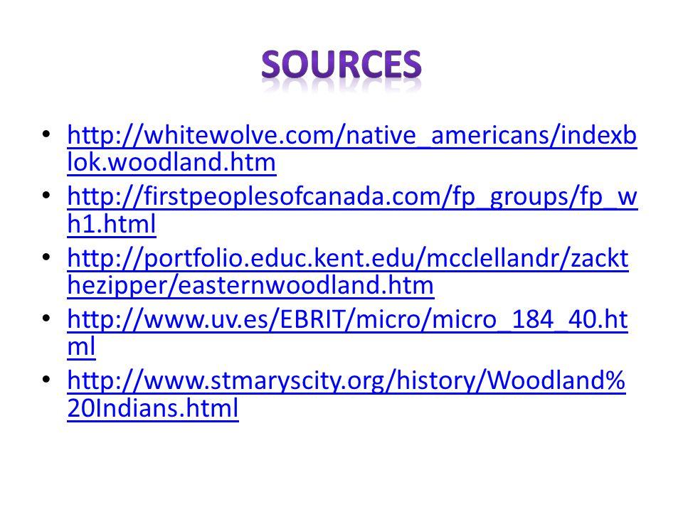 http://whitewolve.com/native_americans/indexb lok.woodland.htm http://whitewolve.com/native_americans/indexb lok.woodland.htm http://firstpeoplesofcan