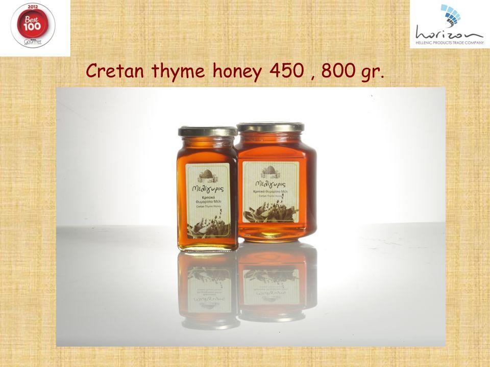 Cretan thyme honey 450, 800 gr. 