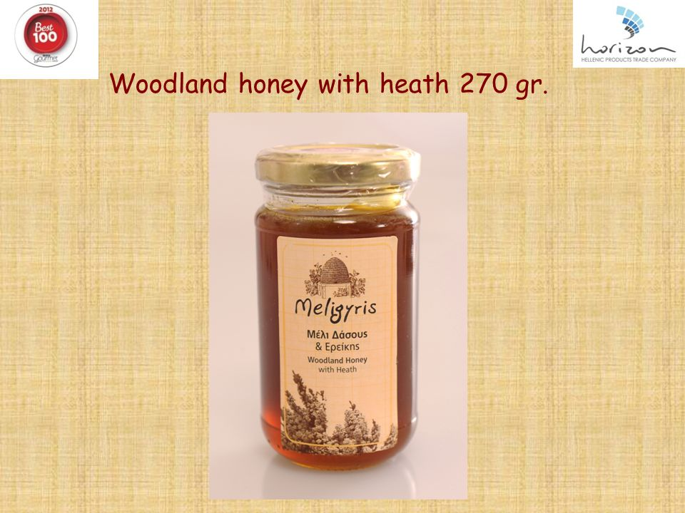 Woodland honey with heath 270 gr. 