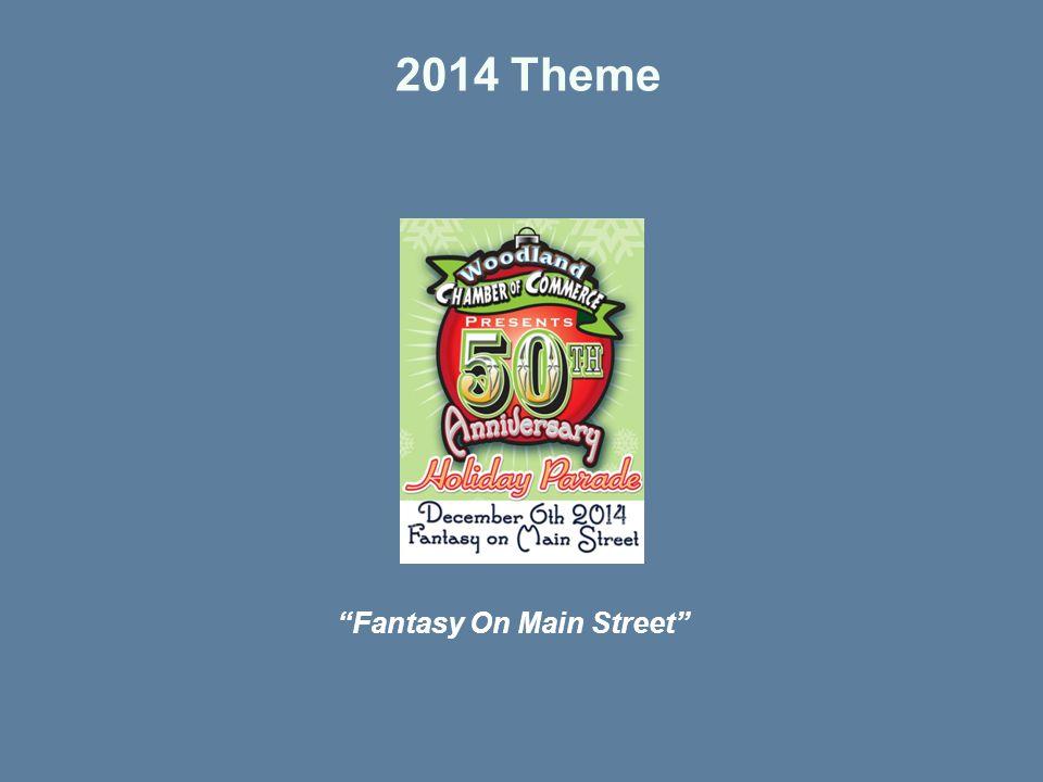 2014 Theme Fantasy On Main Street
