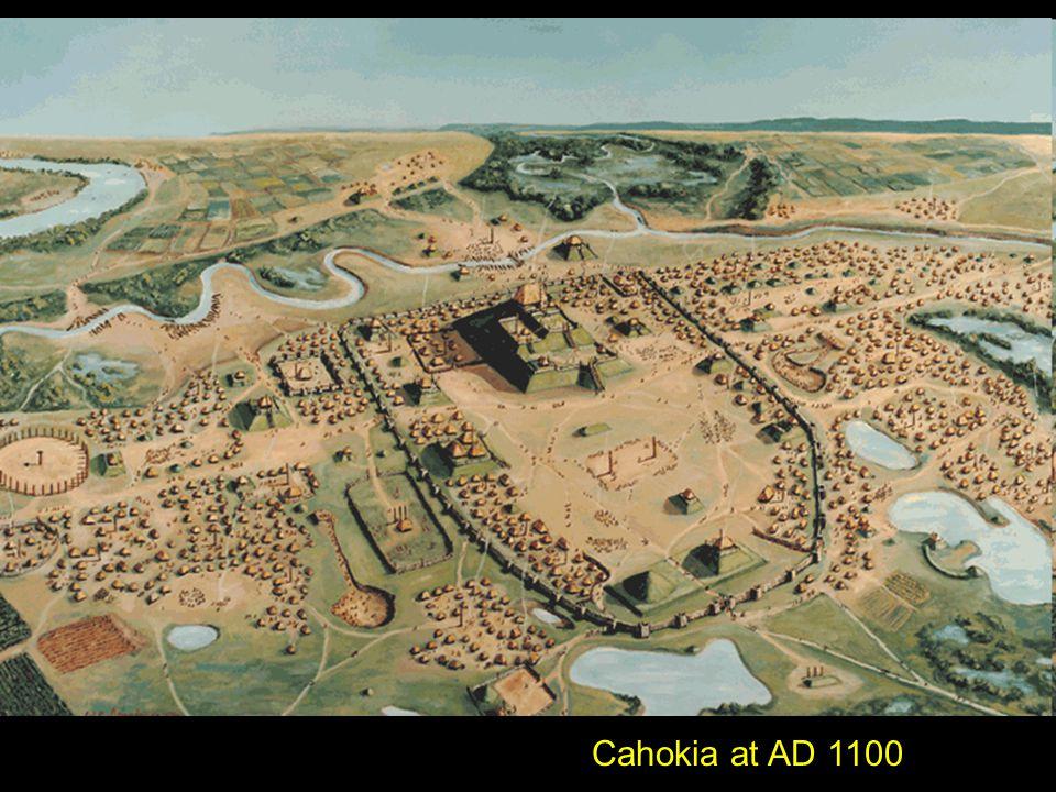 Cahokia at AD 1100