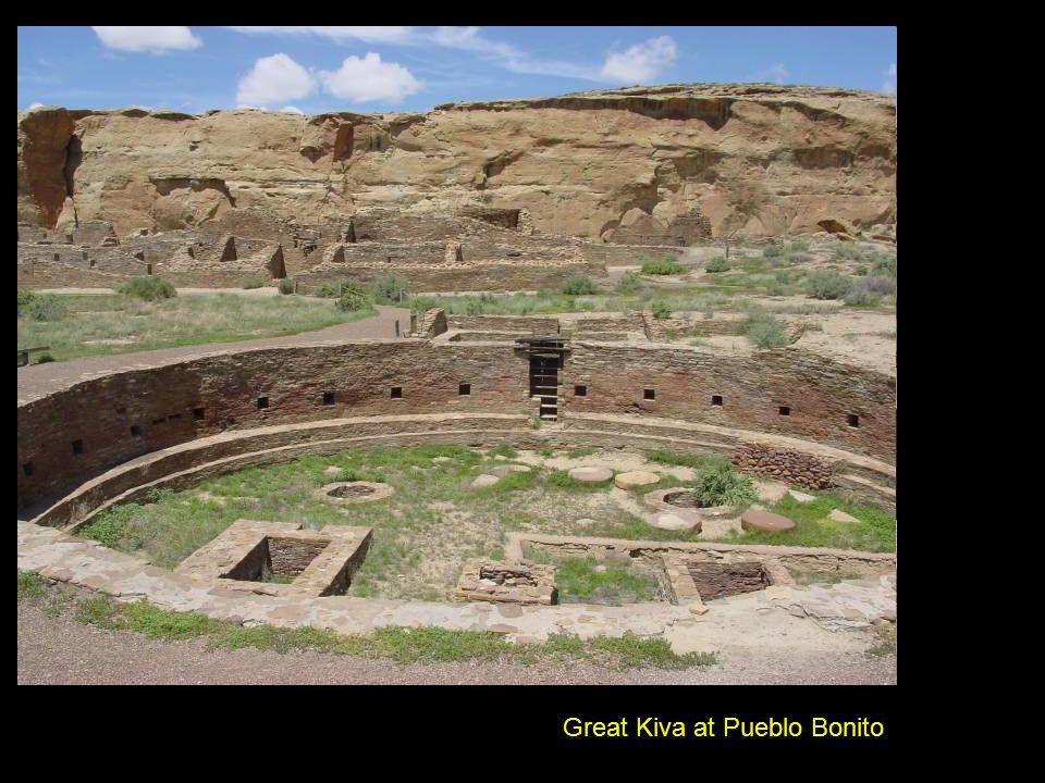 Great Kiva at Pueblo Bonito