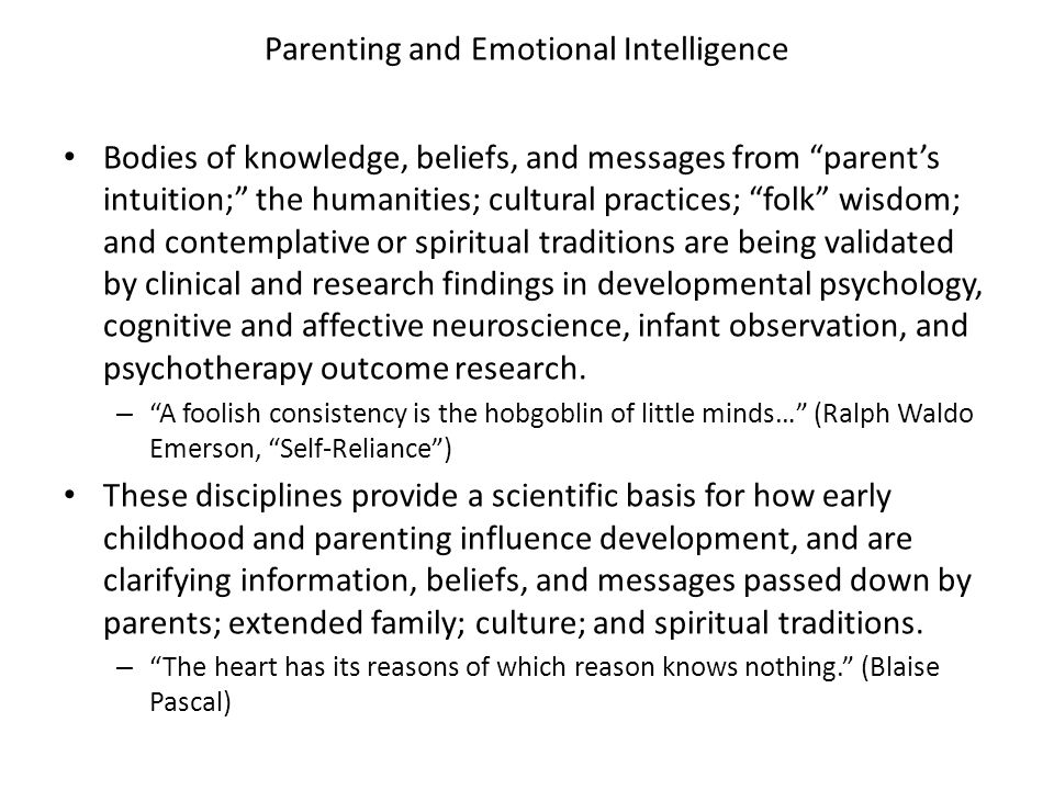 Implications for Parenting Encourage symbolic thinking: what else might this be? Exposure to diversity in daily life experiences (i.e.