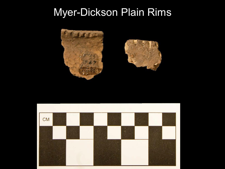 Myer-Dickson Plain Rims Vessel 67