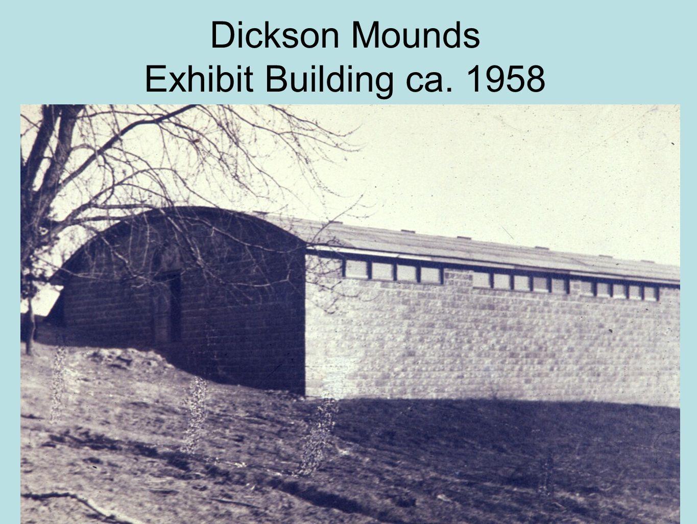 Dickson Mounds Exhibit Building ca. 1958