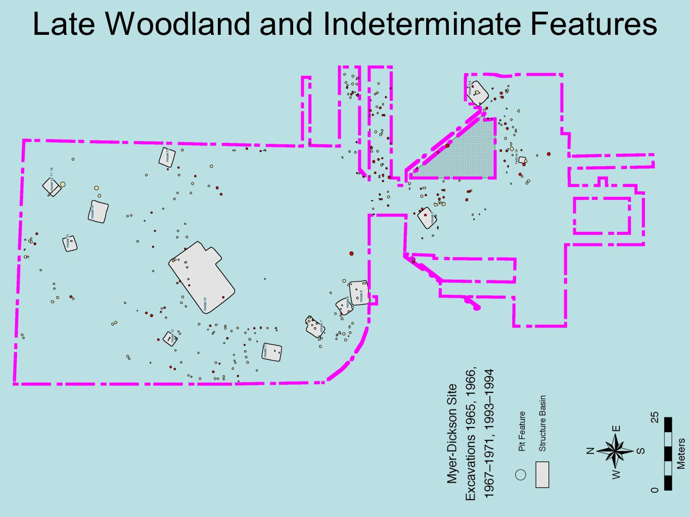 Late Woodland and Indeterminate Features