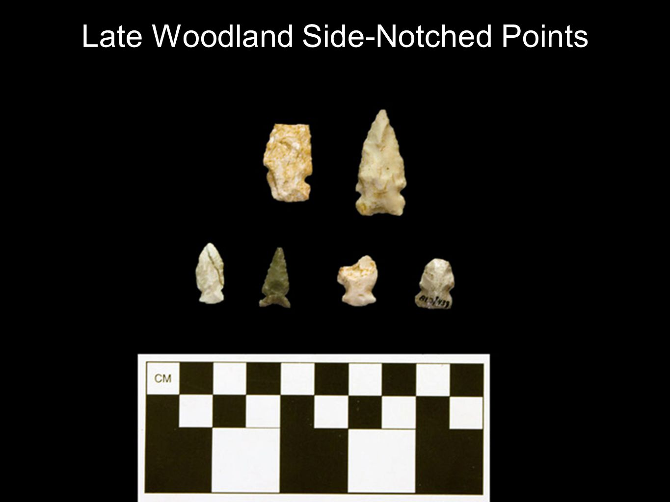 Late Woodland Side-Notched Points