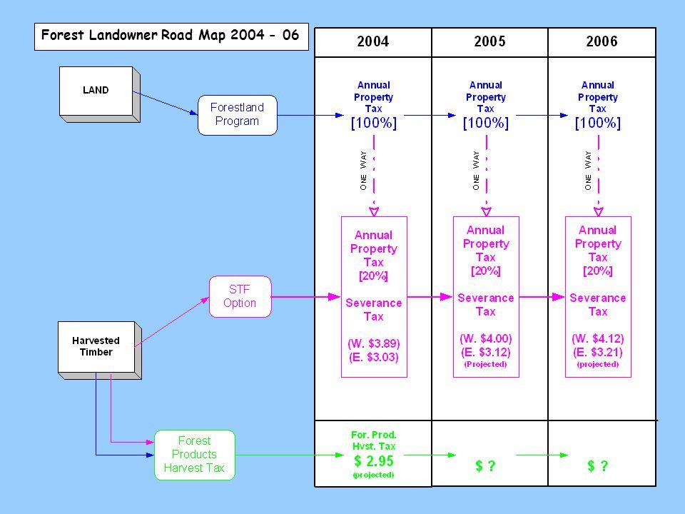 Forest Landowner Road Map 2004 - 06