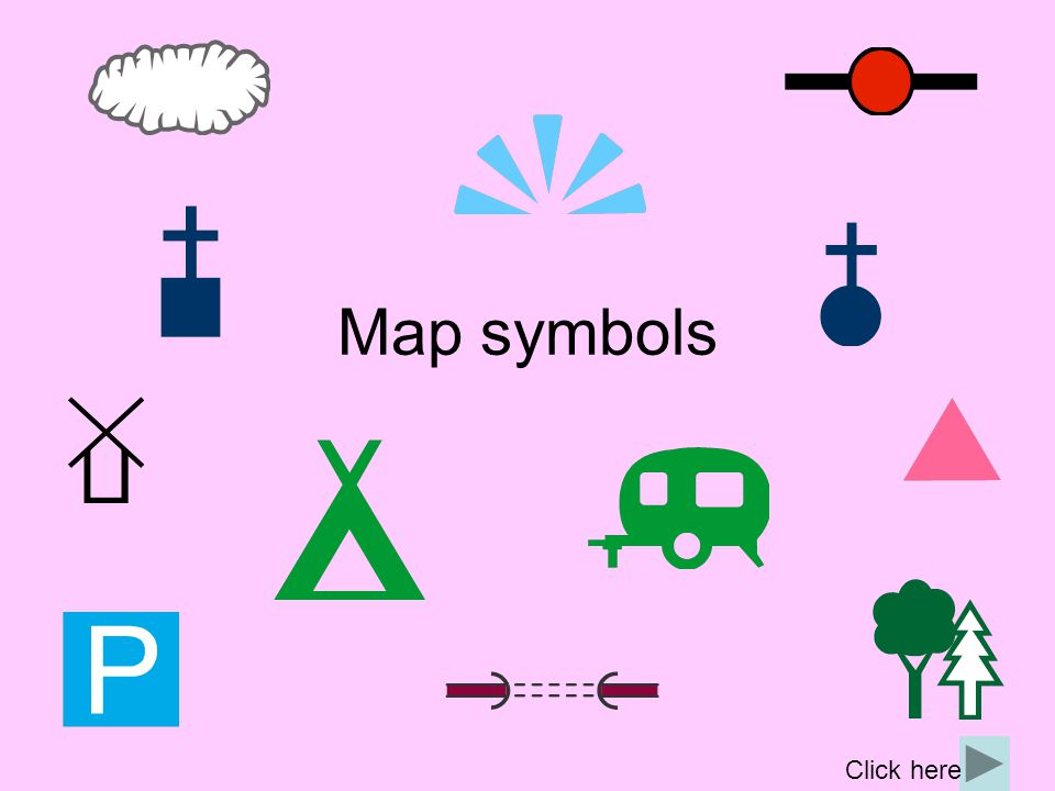 What are map symbols.Maps give us a lot of information and there is not much room for labels.