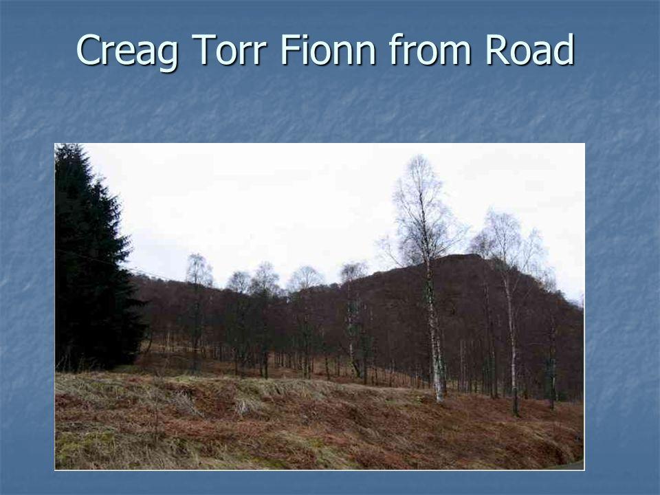 Creag Torr Fionn from Road