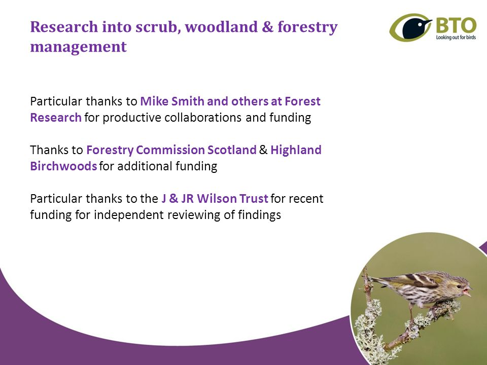 Species-focused research