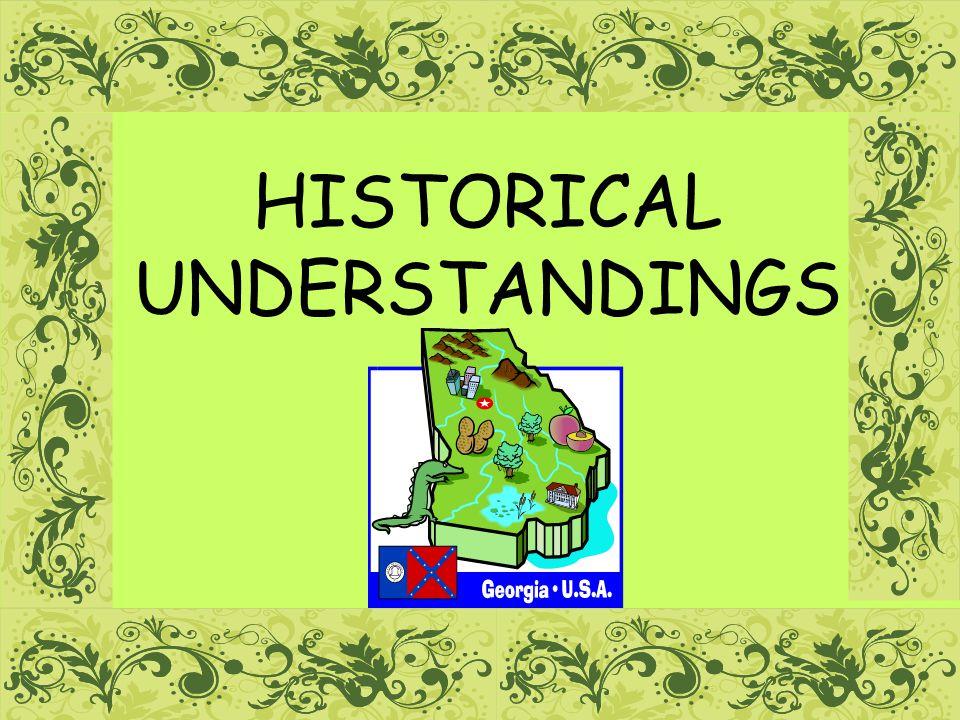 1 HISTORICAL UNDERSTANDINGS