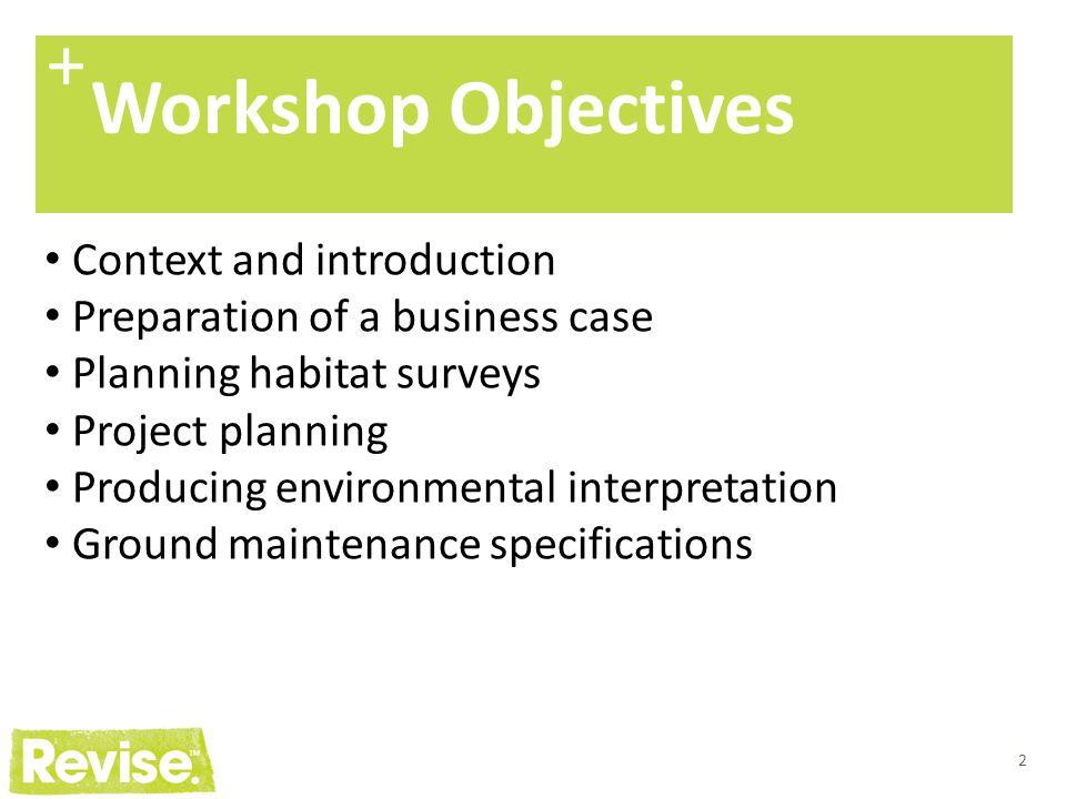 13 + Biodiversity indicators